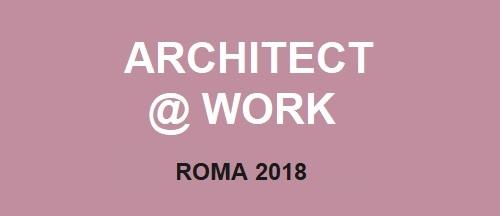 Architect @ Work Roma 2018